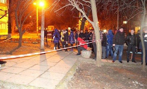 На месте убийства предпринимателя Петра Барашковского в Николаеве
