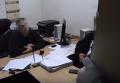 Задержание в Кривом Роге взяточника-подполковника, выстрелившего себе в рот. Видео