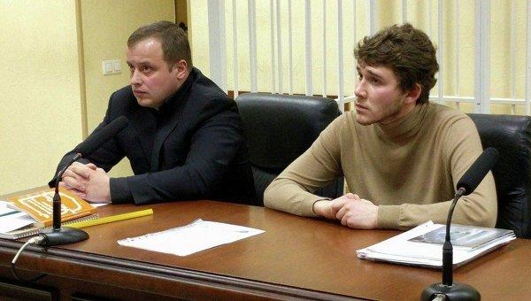 Станислав Толстошеев на суде