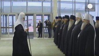 Духовных и физических сил пожелал себе патриарх Кирилл в преддверие встречи с папой Франциском
