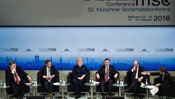 Петр Порошенко на Мюнхенской конференции. Архивное фото