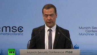 Медведев об отношениях РФ и НАТО. Видео