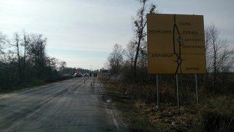 Блокирование фур из РФ в Ровенской области