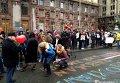 В Киеве активисты требуют не отказываться от пешеходного Крещатика