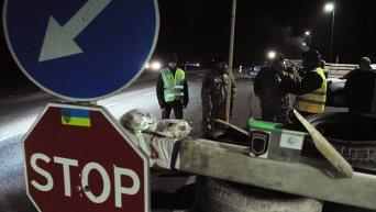 Блокирование движения российских фур во Львовской области