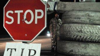 Активисты блокируют движение российских фур во Львовской области