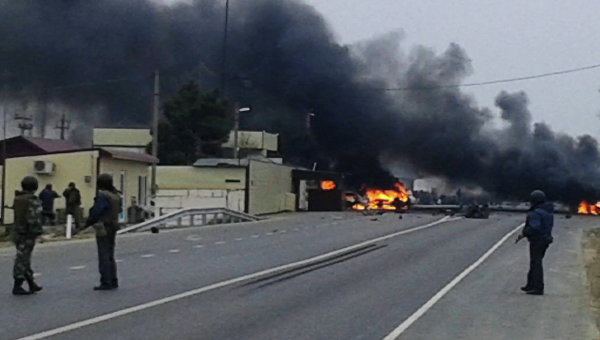 Взрыв в Дагестане. Архивное