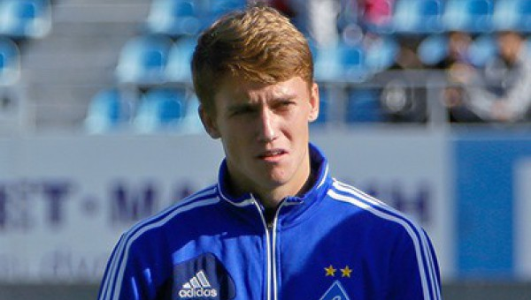 Футболист Андрей Гусин-младший