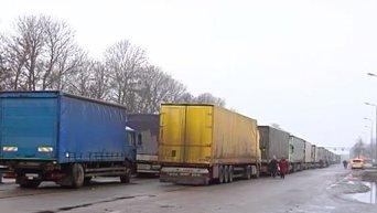 В Украину возвращаются заблокированные в Россиии грузовики