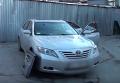 Обстрелянный автомобиль Toyota в Киеве 17 февраля 2016