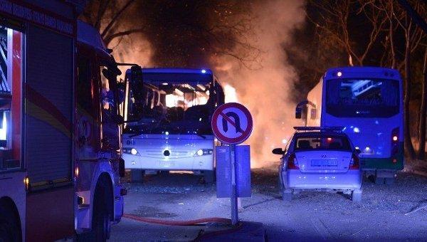 Вследствие теракта в Анкаре погибло более 20 человек