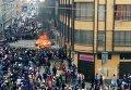 Беспорядки и поджог мэрии в Боливии