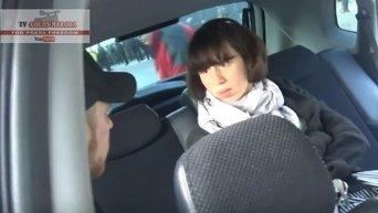 Татьяна Черновол проникла в чужую машину. Видео