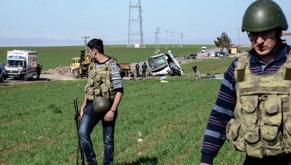 Аэропорт наюго-востоке Турции попал под ракетный обстрел