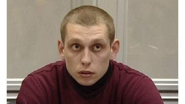 Сергей Олейник, обвиняемый в убийстве пассажира BMW в Киеве