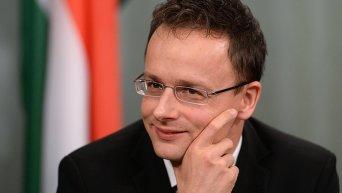 Глава МИД Венгрии Петер Сиярто. Архивное фото