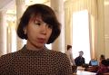 Татьяна Черновол объяснила, почему захватила авто под Радой. Видео