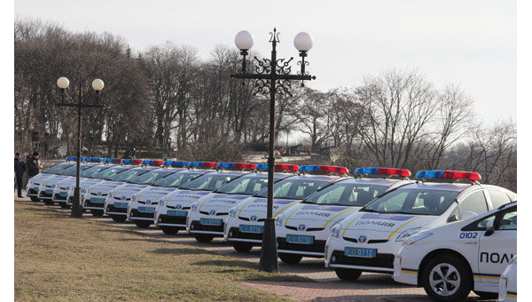 Автомобили патрульной полиции. Архивное фото