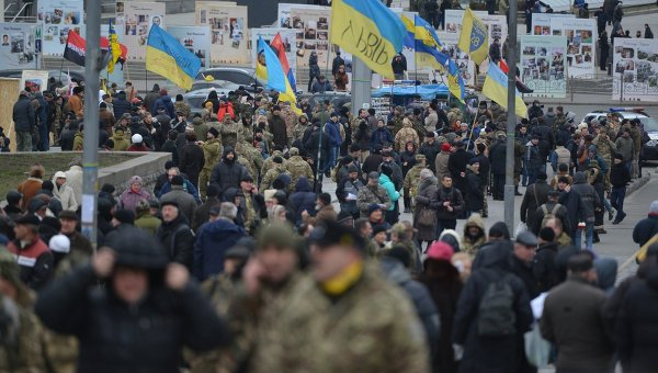 Вече на Майдане в честь Героев Небесной Сотни