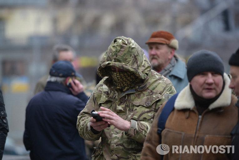 В Киеве почтили память погибших на Евромайдане