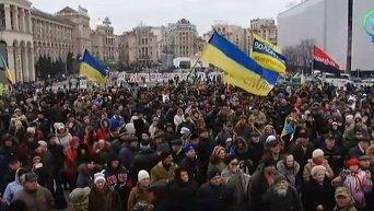 День памяти Героев Небесной сотни на Майдане. Онлайн-трансляция