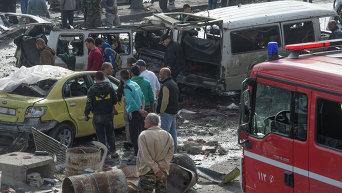 Теракт в сирийском Хомсе