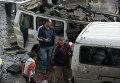 Теракт в сирийском Хомсе. Архивное фото
