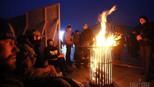 На Майдане Незалежности состоялось народное вече