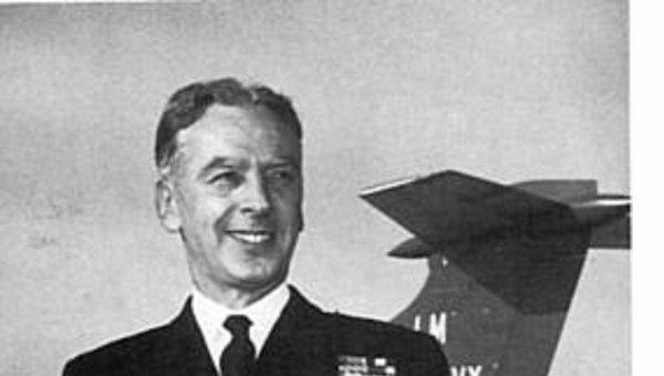 Легендарный британский летчик Эрик Браун
