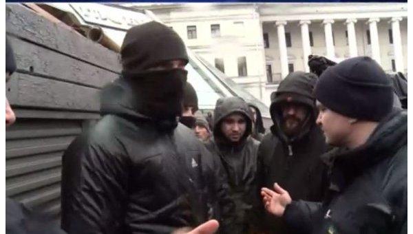 Участники драки на Майдане