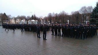 Запуск работы патрульной полиции в Виннице