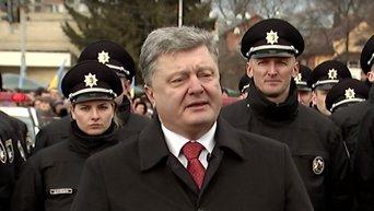 Порошенко отреагировал на протесты на Майдане Незалежности. Видео