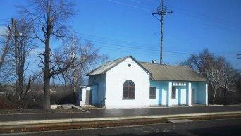 Железнодорожное сообщение в Донбассе