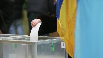 Голосование украинцев на выборах