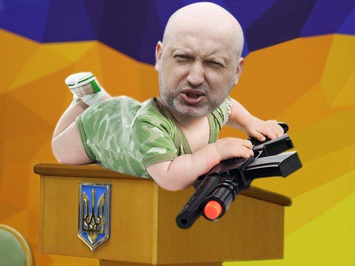 Пользователи соцсетей отреагировали на награждение именным оружием Яценюка, Авакова и Турчинова