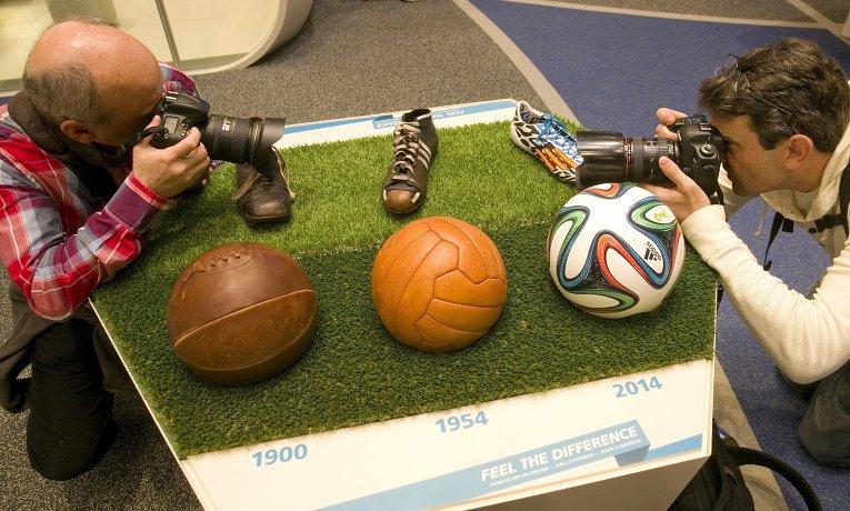 Музей футбола ФИФА в Цюрихе.