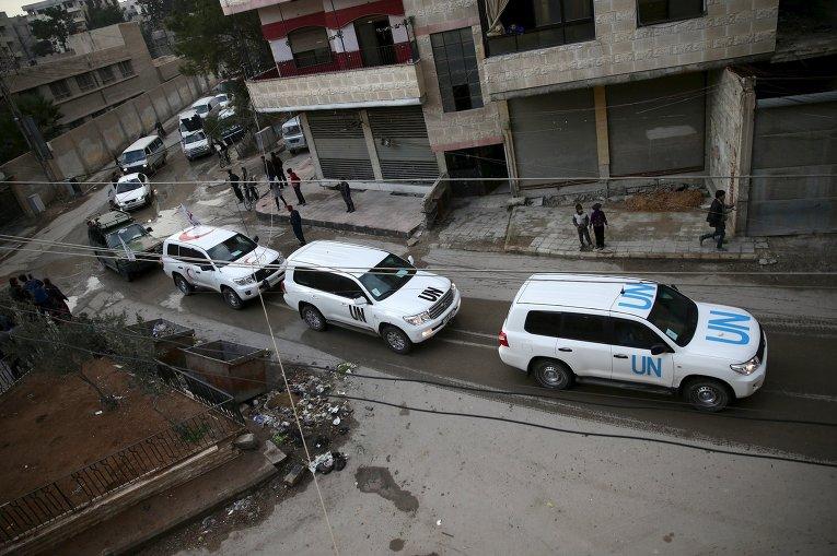 Миссия ООН в Сирии.