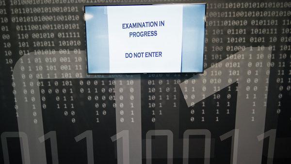 Компьютерный сбой. Хакерская атака
