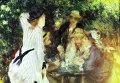 Репродукция картины Пьера Огюста Ренуара В саду