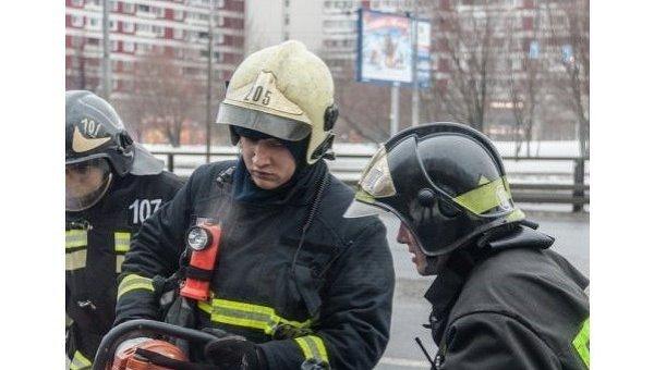 Сотрудники МЧС РФ. Архивное фото
