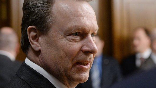 Председатель Парламентской ассамблеи ОБСЕ Илкка Канерва. Архивное фото