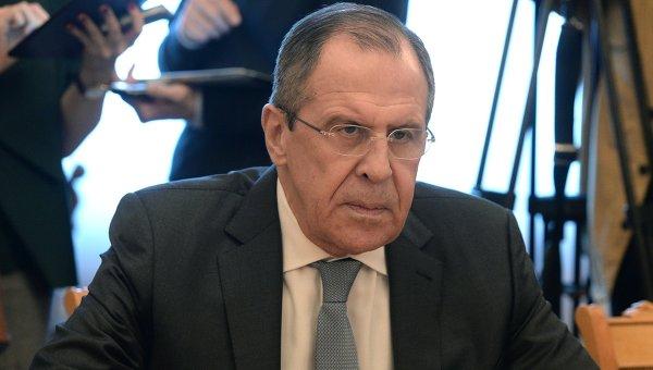 Министр иностранных дел Сергей Лавров. Архивное фото