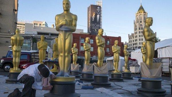 Подготовка к ежегодной кинопремии Оскар. Архивное фото