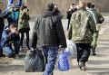 Обмен пленными между в Донбассе. Архивное фото