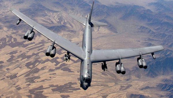 Стратегический бомбардировщик. Архивное фото