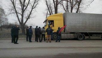 Свобода начала блокаду фур из РФ в Житомирской области