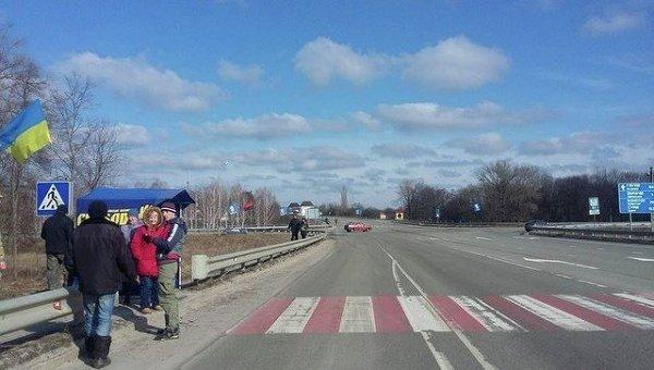 Блокада российских фур началась в Сумской области