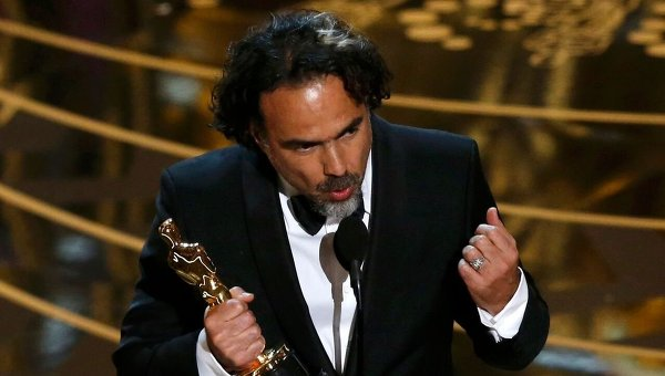 Алехандро Гонсалес Иньярриту во время 88-й церемонии вручения премии Оскар в Голливуде