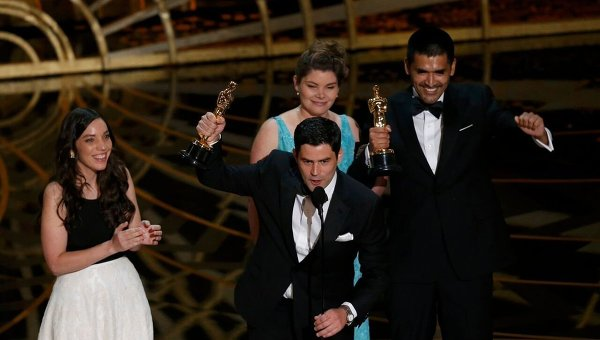 Габриэль Осорио во время 88-й церемонии вручения премии Оскар в Голливуде