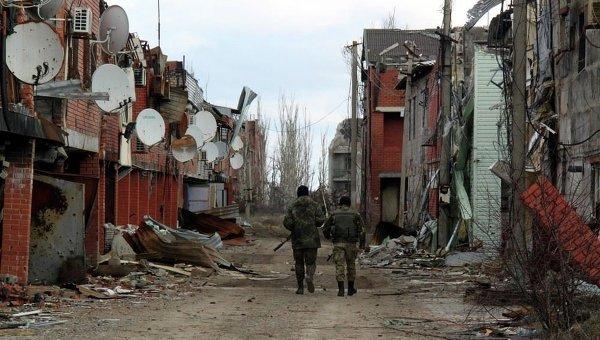 Разрушенное Широкино. Архивное фото